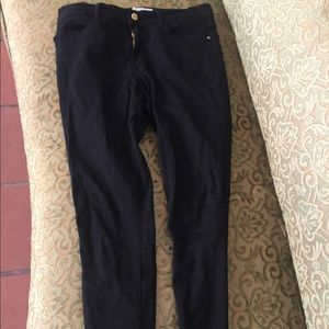 Frame Le High skinny jean black 30